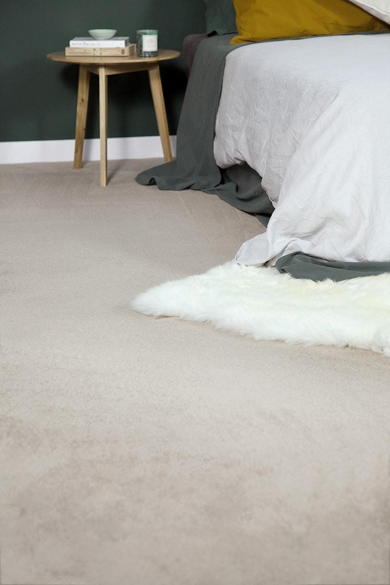 Andersens Designer Series: The Bedroom Fur Rug Closeup