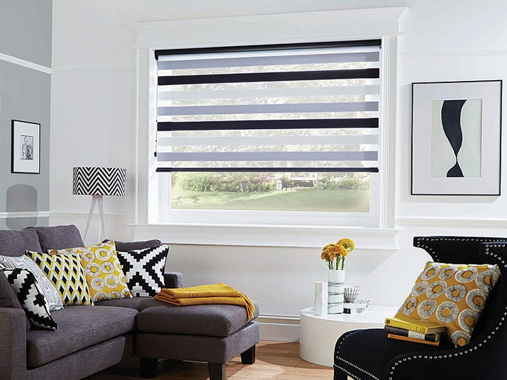 Window coverings providing lighting and privacy control