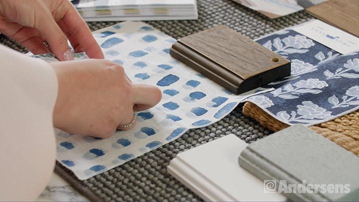 Choosing interior design textures