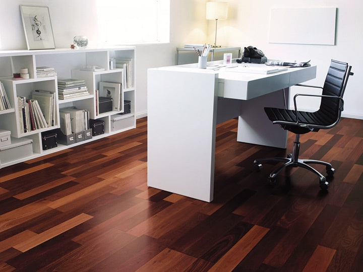 Hardwood Home Office