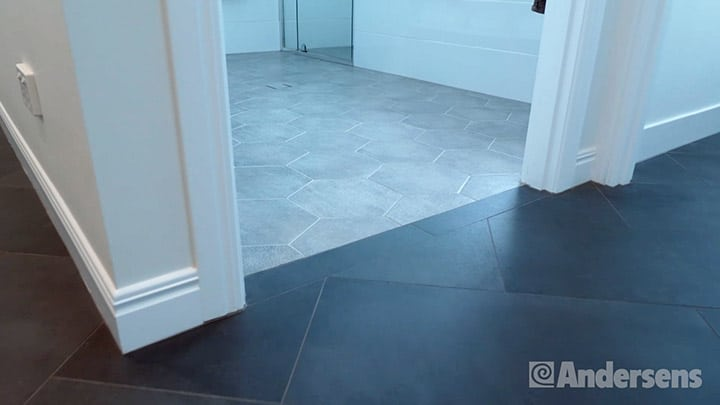Complementary flooring colours
