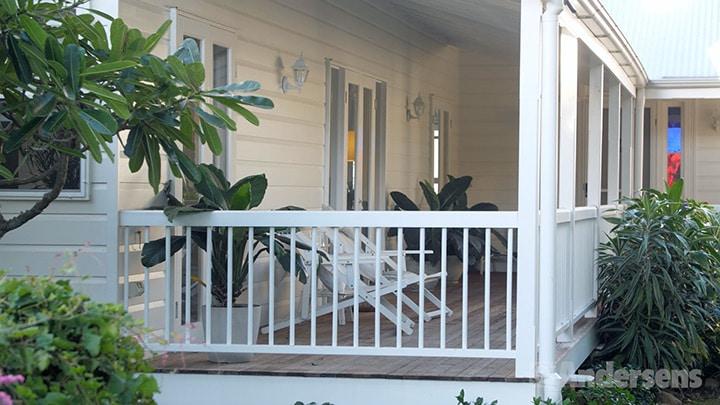 Queenslander home deck