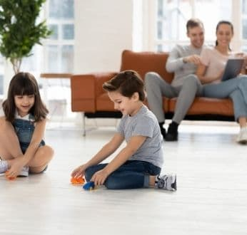 Kid-friendly flooring
